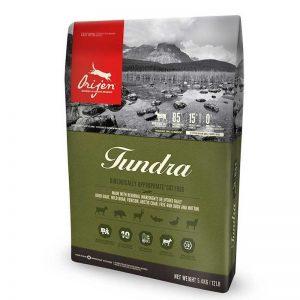Croquettes sans céréales pour chat : Orijen Tundra